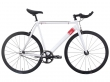 Fixie bicykle 6ku track white