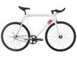 Fixie bicykle 6ku track white
