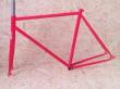 Fixie rámový set červený