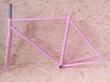 Fixie rámový set ružový