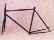 Fixie rámový set čierny matný